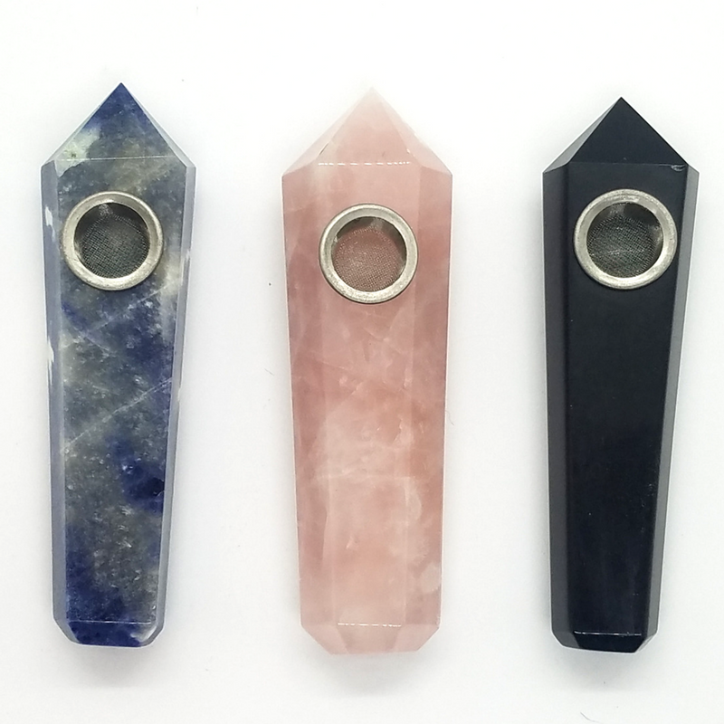 Crystal Pipes - Just another way to get crystal energy in your life + be the envy of all your friends.