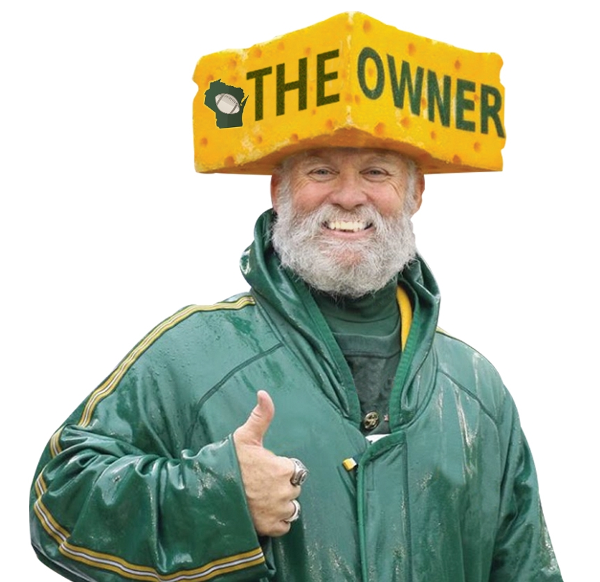 """Steve """"The Owner"""" Tate approves of Winner Green Bay Gum and all things worthy of """"Owning""""."""