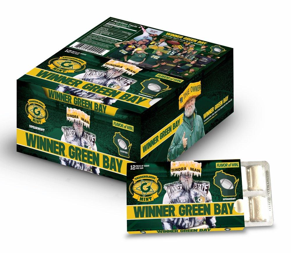 Winner Green Bay Gum