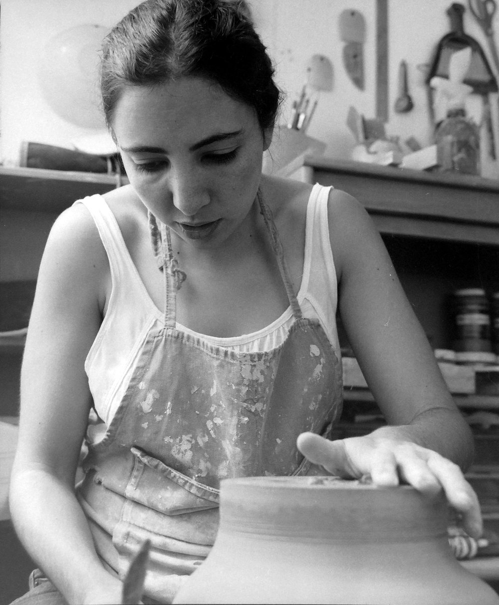Laila Salomon - Laila Salomon is a designer based in Mexico City, currently working and experimenting with clay. The story behind each object, its materiality, its functionality and how it affects our everyday lives, shapes her work. Her passion for mountains and nature has uncovered an array of textures and colors that have become a source of inspiration in her search to create unique pieces.For Laila, research, experimentation and details are the most essential aspects of her creative process, with results in objects made with patience and dedication.