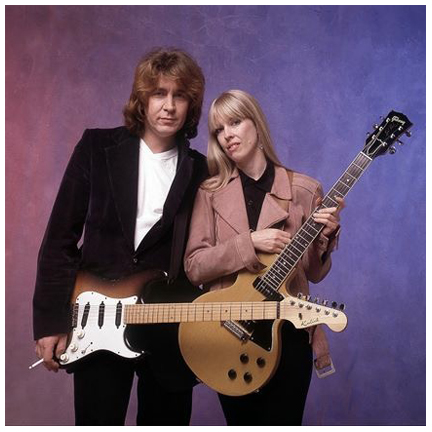 Mick Taylor and Carla Olson photo by Glen La Ferman