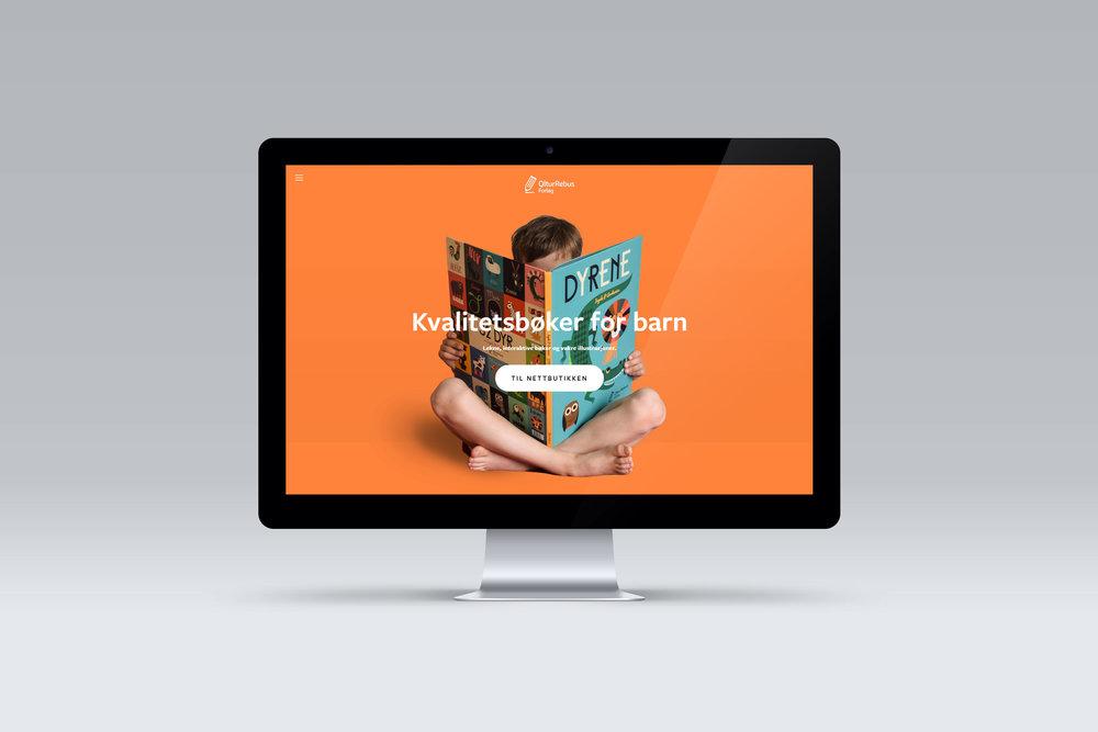 Webdesign - Nettsider for mindre bedrifter og startups.