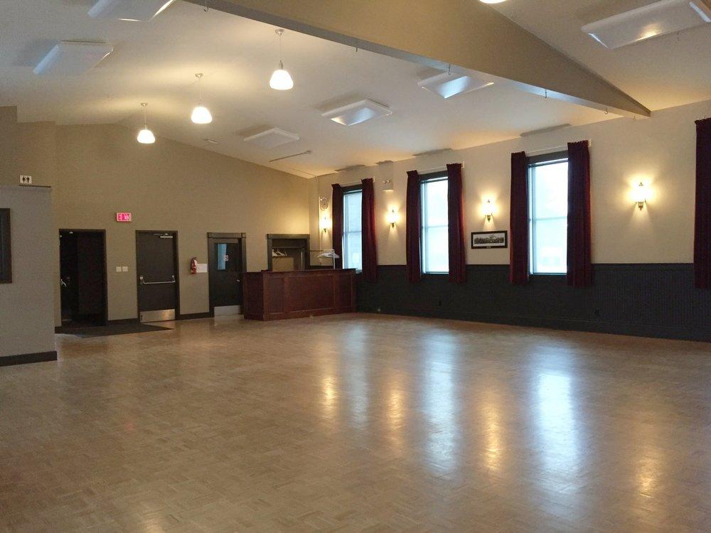 Hall Interior - East