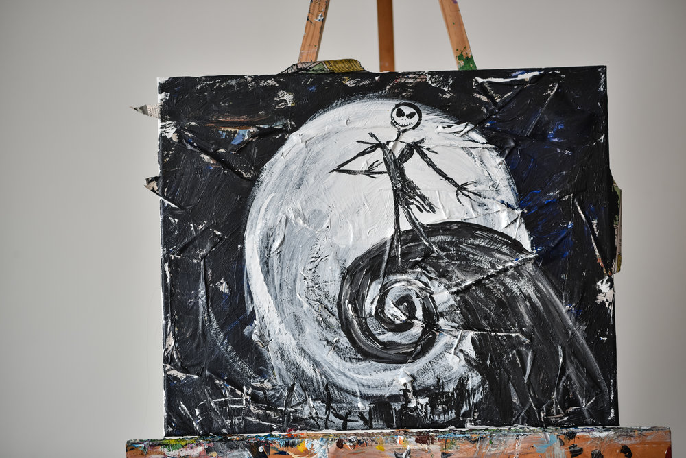 NIGHTMARE BEFORE CHRISTMAS COLLAGE -