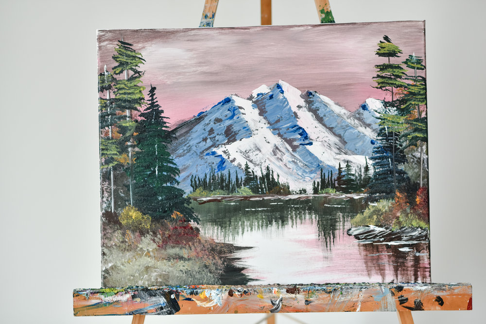 BOB ROSS NIGHT -