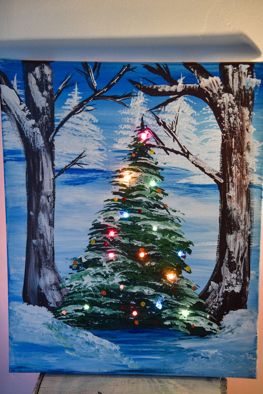 LIGHT UP TREE - AT INDAH SUSHI IN WHITEFISH