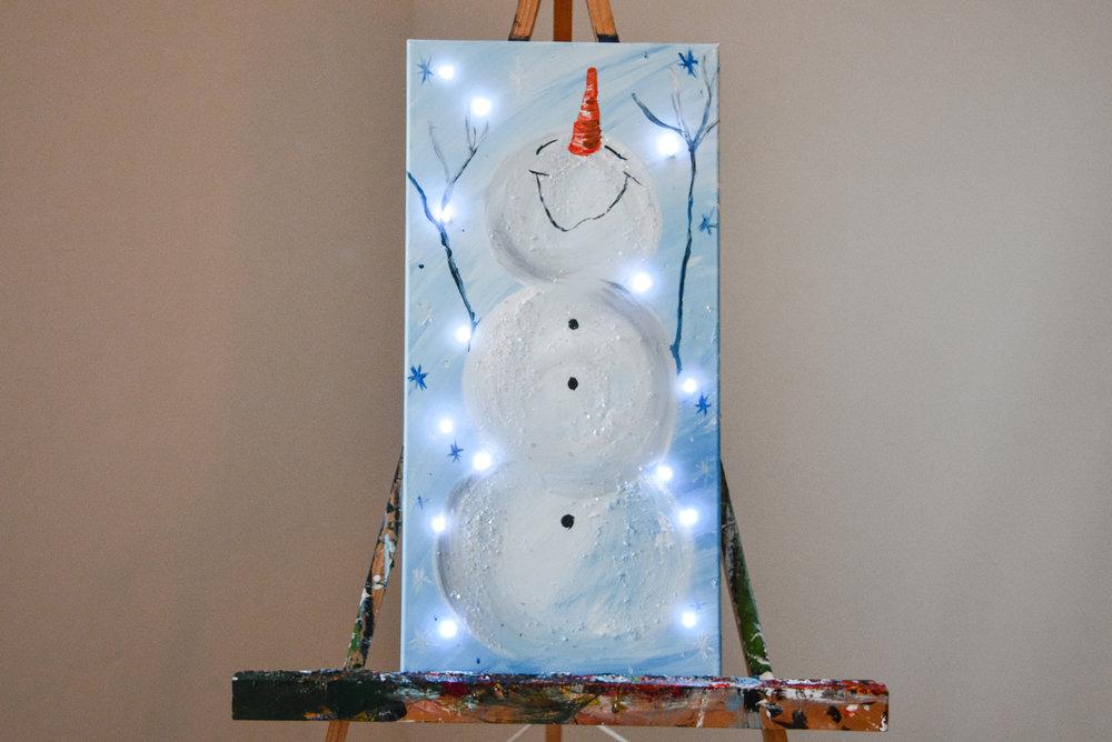 LIGHT UP SNOWMAN -