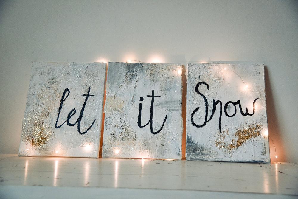 LET IT SNOW COLLAGE -