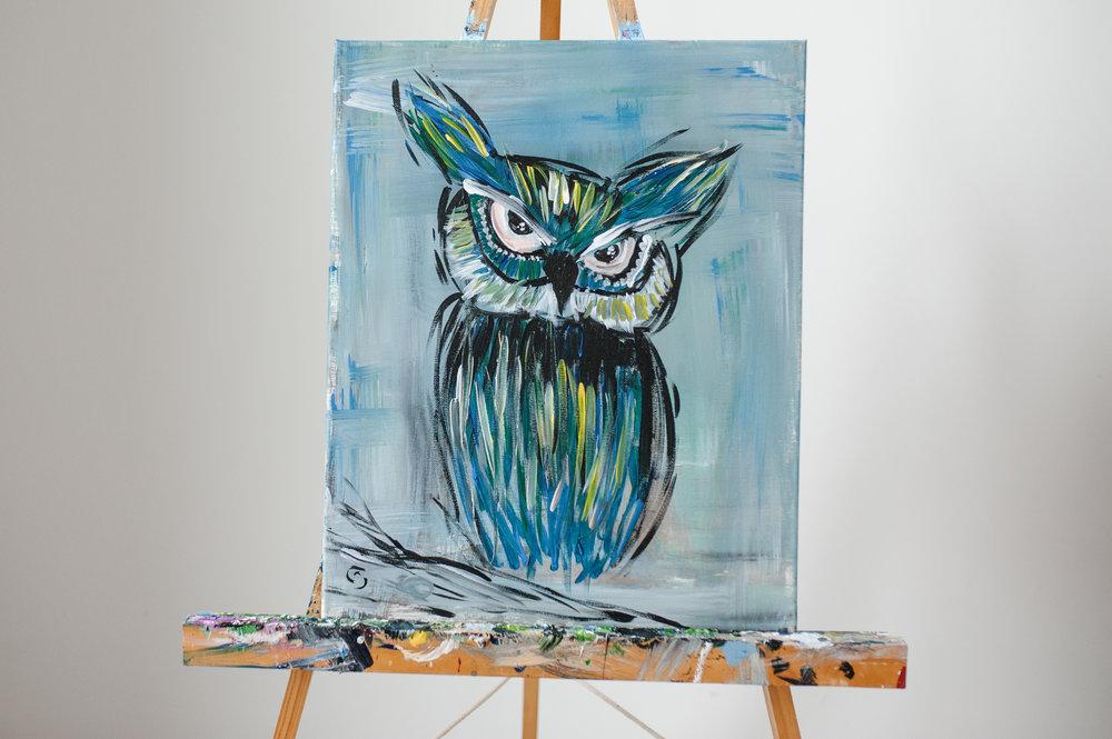 VALENTINES OWL PAINT EVENT -