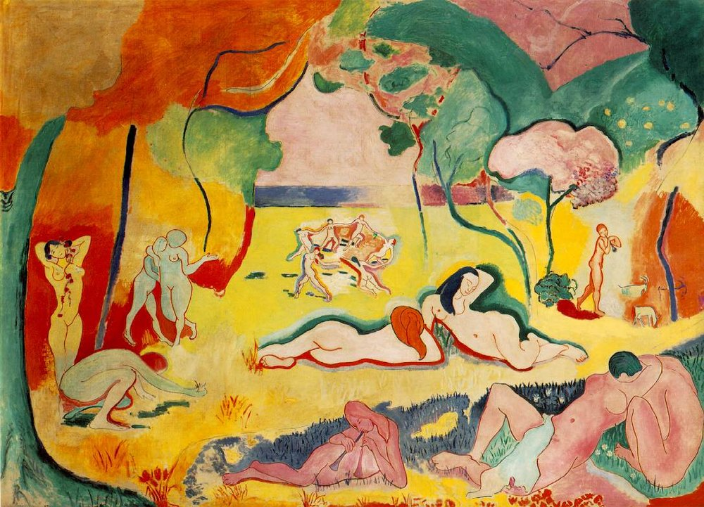 Le bonheur de vivre, 1905 Matisse
