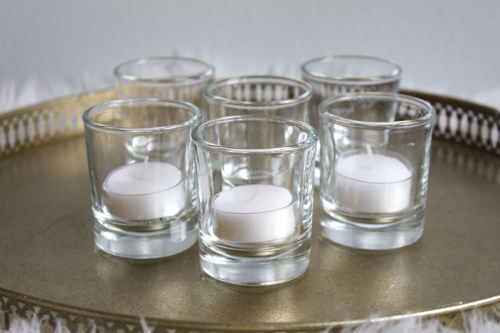 Class Votive - Candle Included - $1.00 - 200 in stock