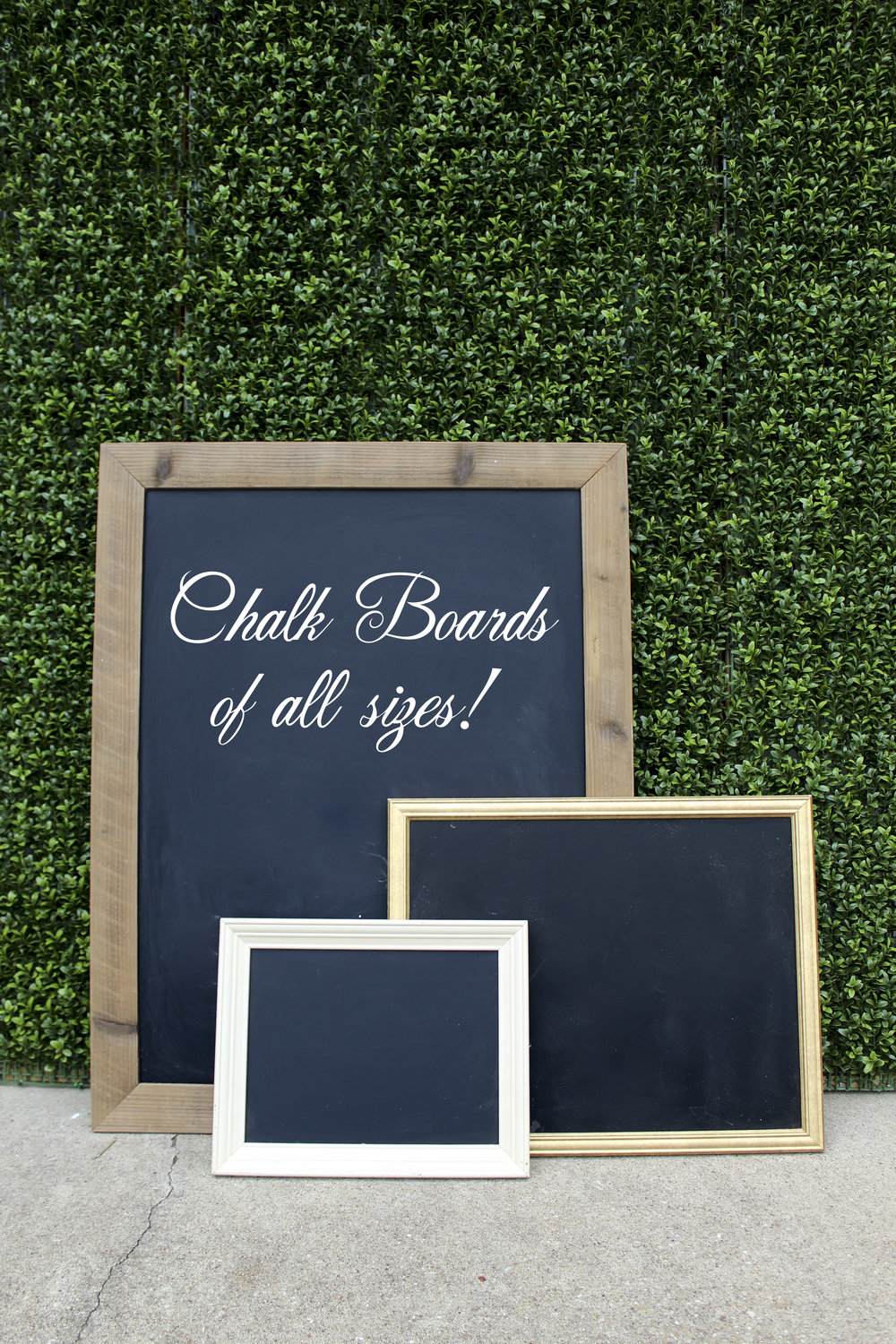 Various Chalkboard Signs - Prices starting at $5.00