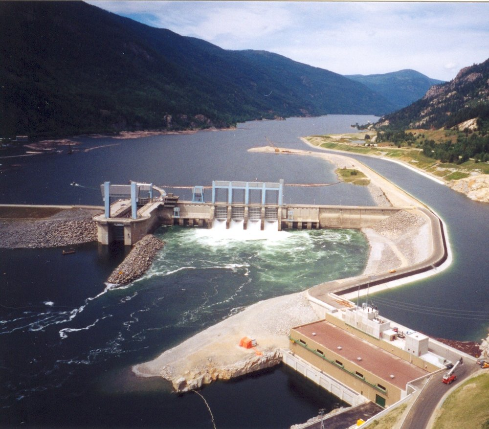 Arrow Lakes Hydro Dam