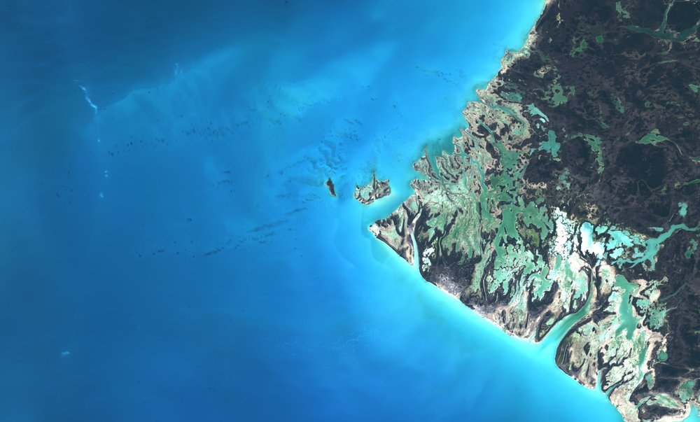Sentinel-2, Williams Island, The Bahamas