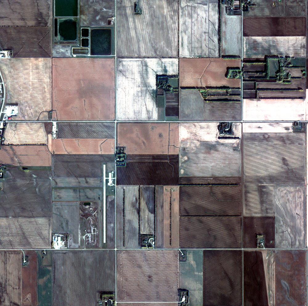 KOMPSAT-2, Alberta, Canada