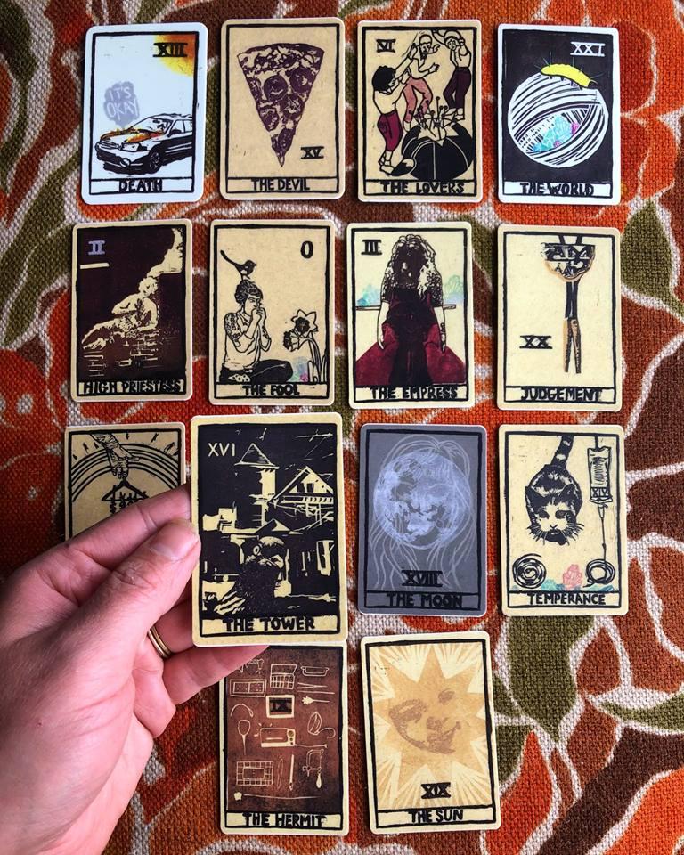 Tarot Stickers - $3/each