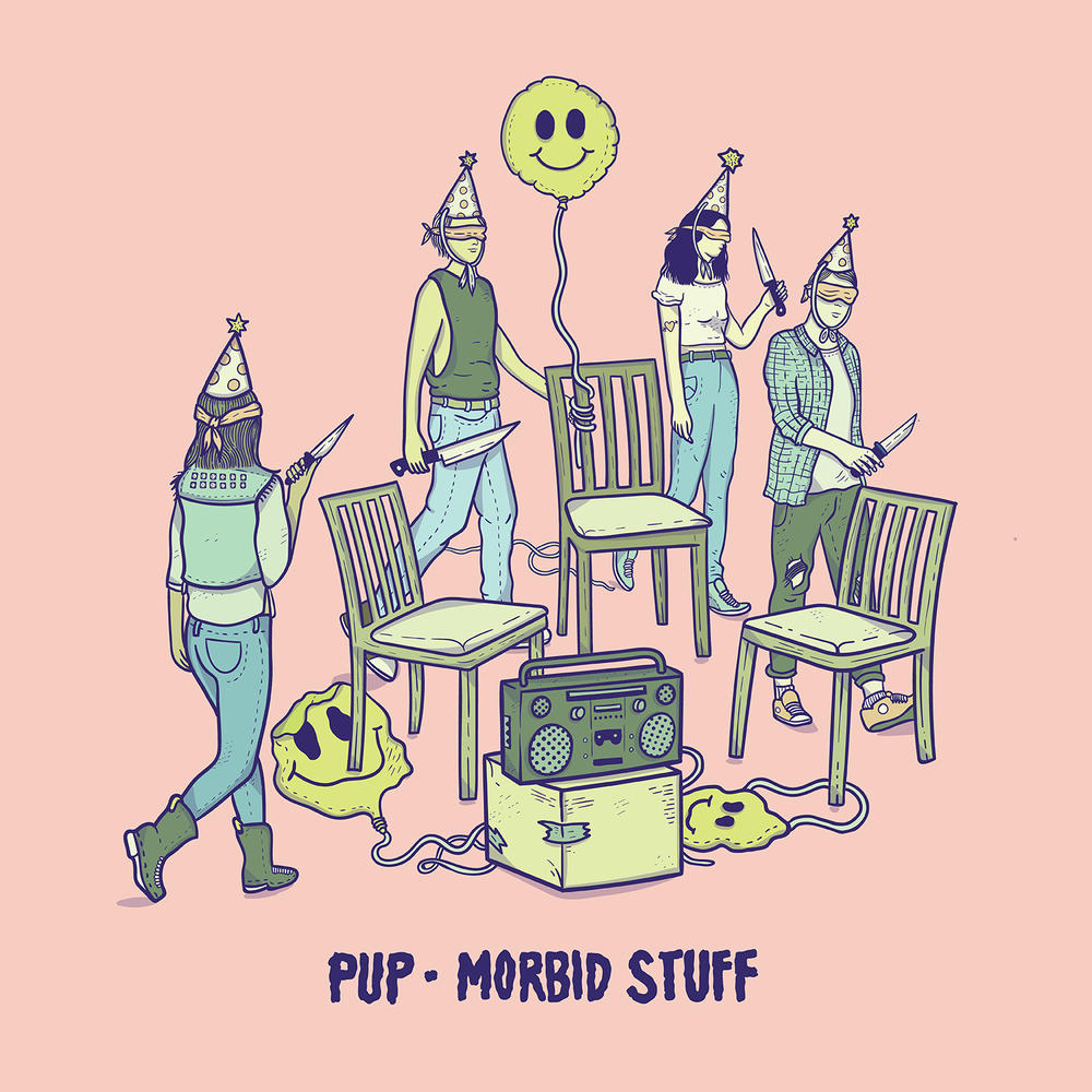 Pup,Morbid Stuff - This mash of pop-punk and indie-emo equates to aggressively depressed. Rabid riffs guide us to catharsis.