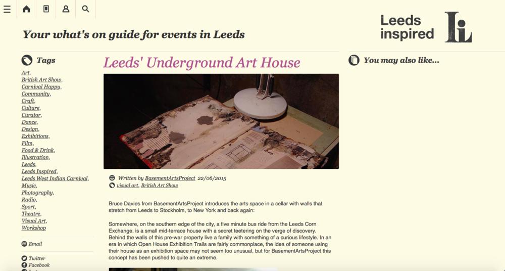 Leeds Inspired - http://www.leedsinspired.co.uk/blog/leeds-underground-art-house