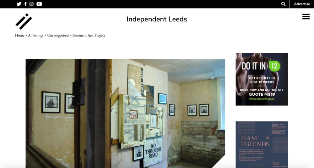 Independent Leeds - https://www.independentleeds.co.uk/basement-arts-project/