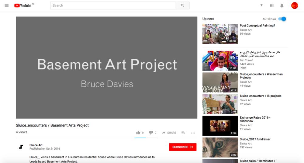 Sluice - (Via YouTube)https://www.youtube.com/watch?v=3vEUsLKquYE