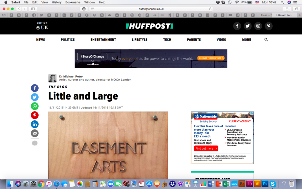 Huffington Post - REVIEW http://www.huffingtonpost.co.uk/dr-michael-petry/little-and-large_b_8573816.html