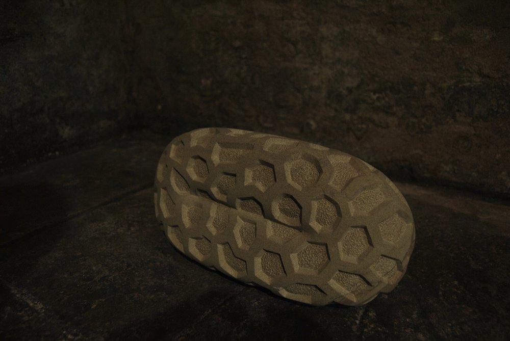 Retiform (not quite Penrose)  (2009)  Sandstone