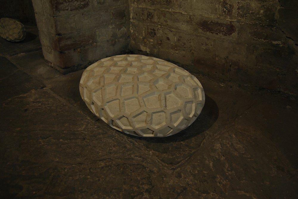 Voronoi Cell  (2011)  Ancaster Limestone
