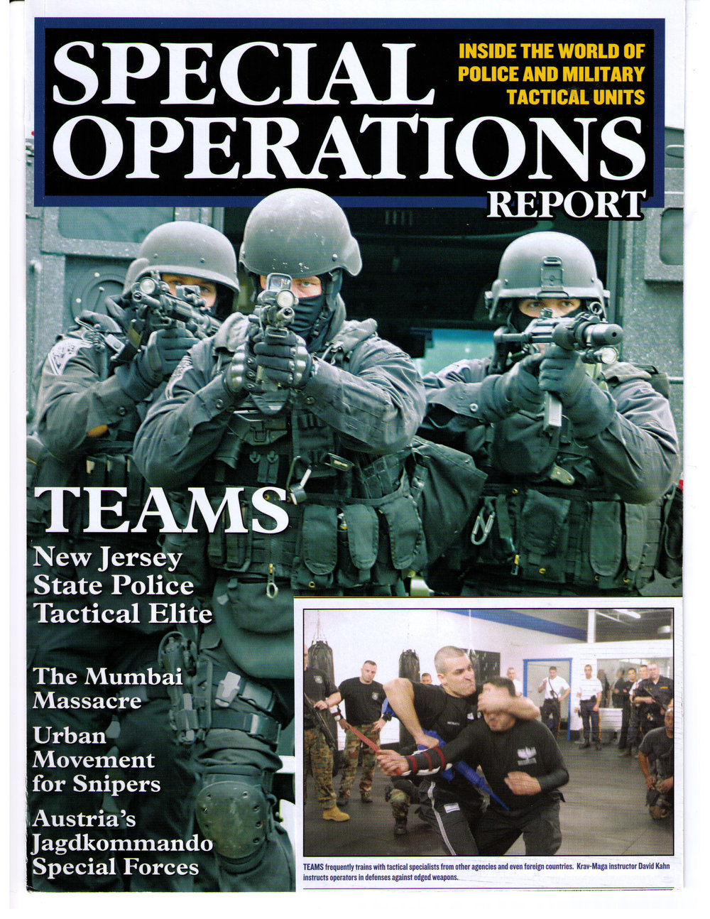 Special Operations Report