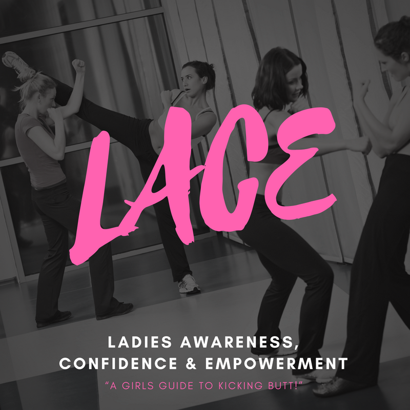 L.A.C.E. - Self Defense for Women - 2nd Wednesday of each month from 7:45-9:15pm