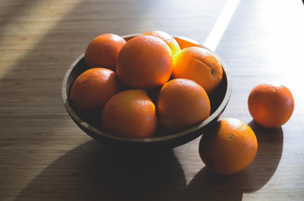 bowl of oranges_cold prevention
