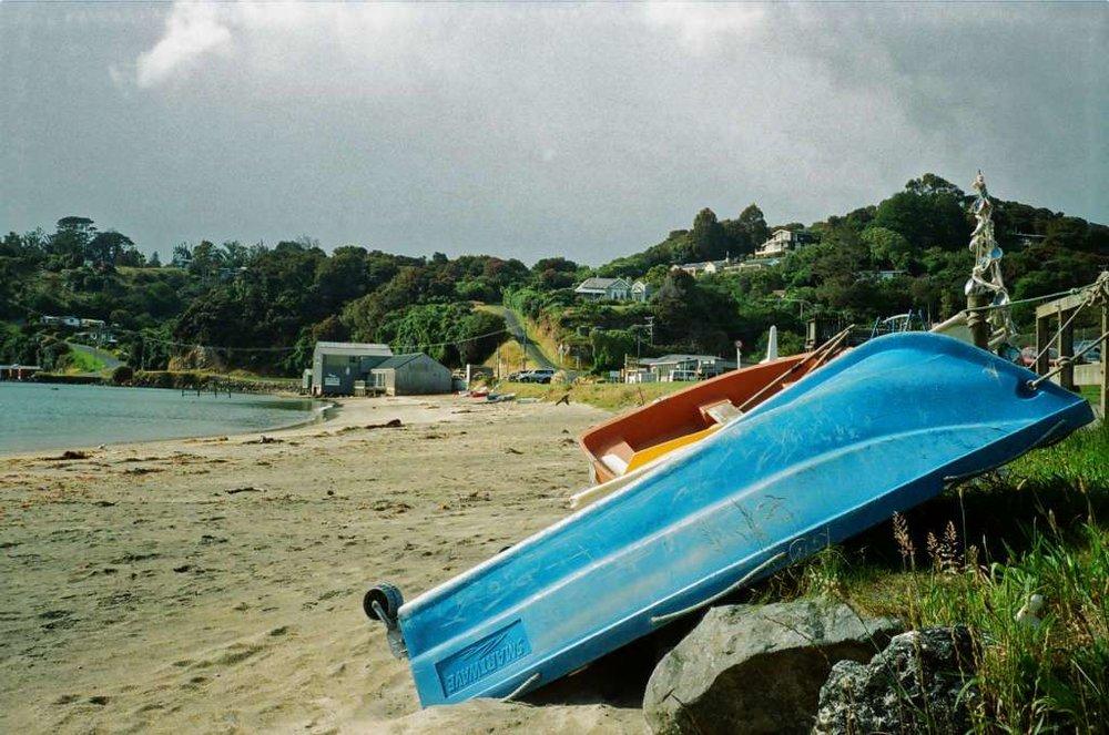 Foreshore, Halfmoon Bay, Stewart Island
