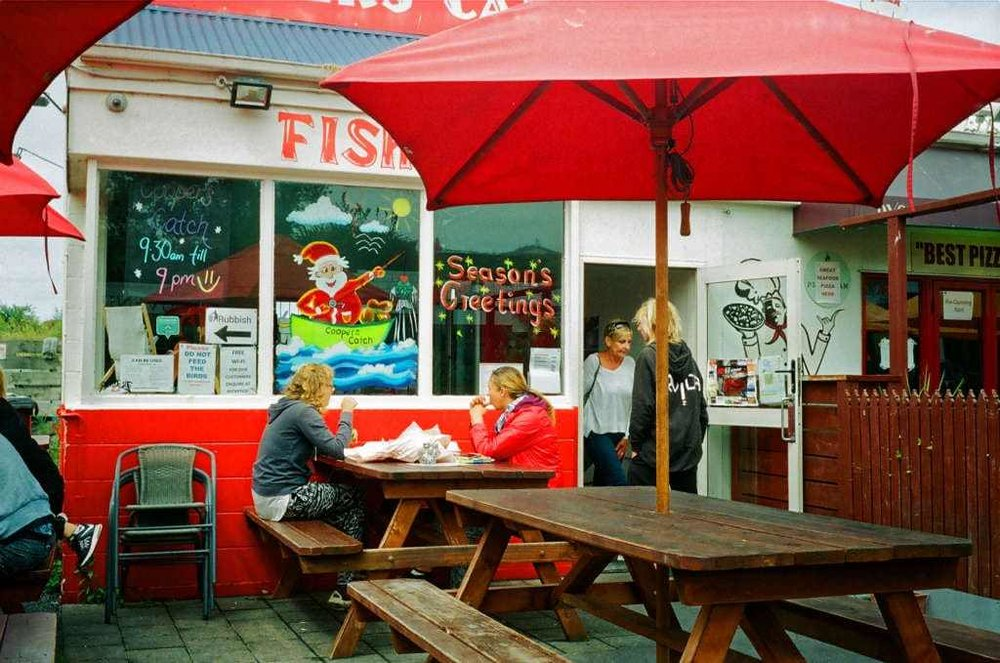 Cooppers Catch fish and chip shop, Kaikoura