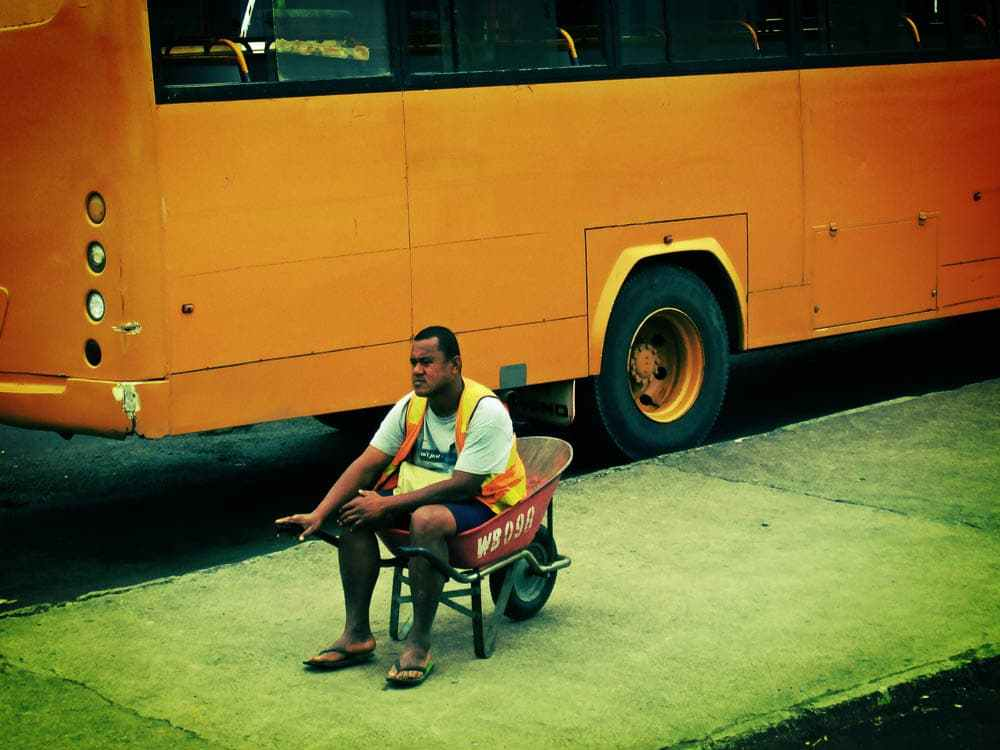 Porters at Suva Bus Station