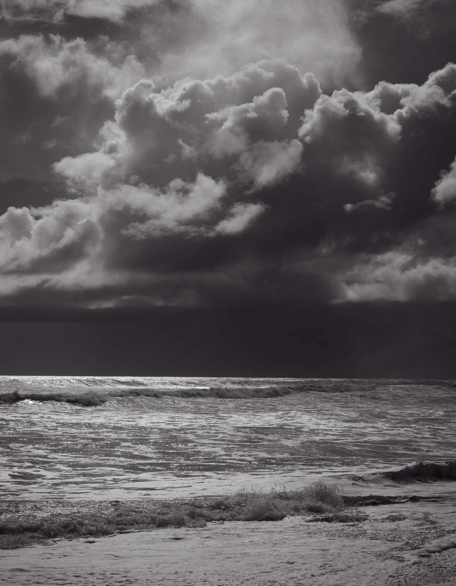 Dramatic skies over Cobden Beach