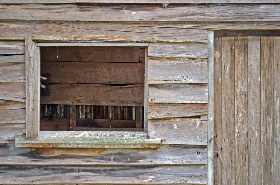 Weathered timbers
