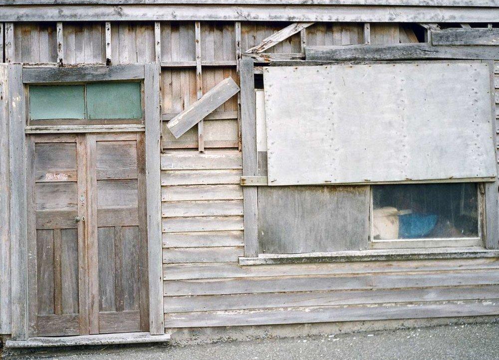 Old store at Orepuki