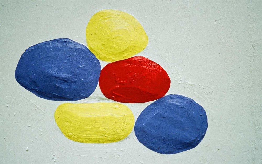 Colour blobs