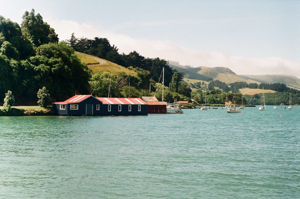 Carey's Bay boatshed