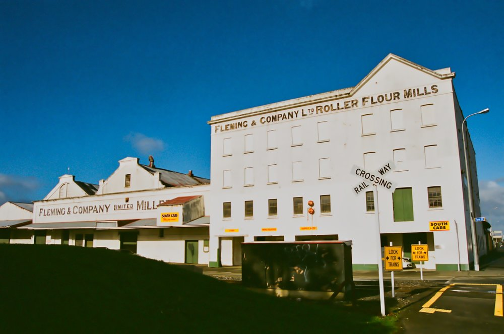 The old Fleming and Company flour mill, Invercargill