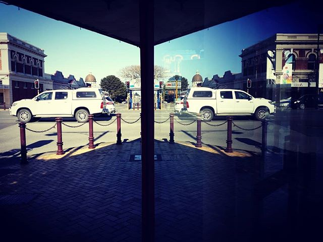 Coming or going? Reflections in a shop window in Invercargill. #invercargill #southland #newzealand #newzealandphotography #newzealandlandscape #newzealandlocations #theoccasionalphotoblogger #smartphone #smartphonephotography #picoftheday #photooftheday #lovesouthland #reflectionphotography # reflection #southland nz
