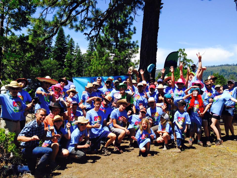 The Quicksilver Running Club, managers of the Duncan Canyon aid station at Western States.  Photo credit .