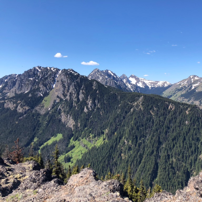 Olympic Mountains 50M - SAT, JULY 13, 2019. QUILCENE, WA.213' - 5,781'A 50-mile celebration of summertime in the Pacific Northwest.