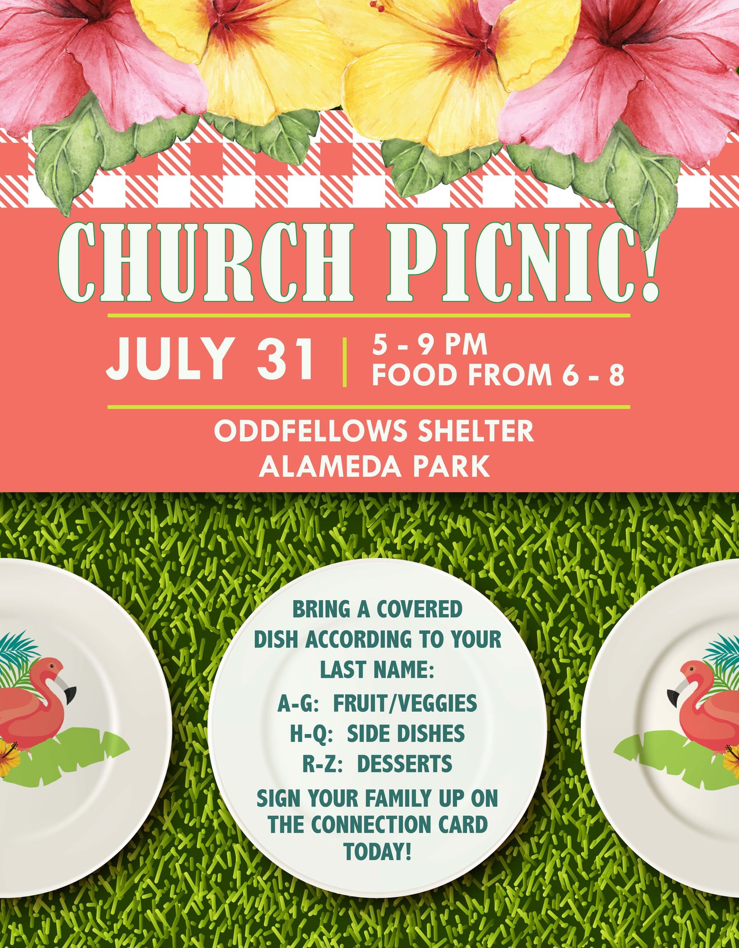 Church Picnic — Butler First Church
