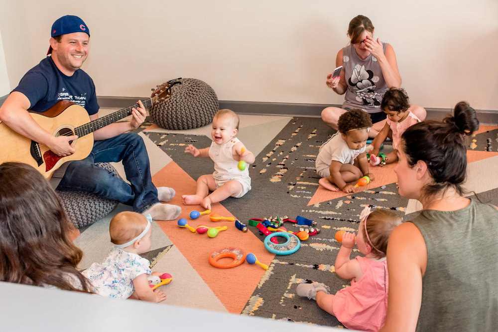 Music and Movement Classes - We offer a variety of drop-in classes at the studio 7 days a week - music, baby & toddler yoga and Zumbini classes! Check our schedule and stop on by!If you're interested in private guitar or ukulele lessons, please email us tinytunesstudio@gmail.com.REGISTER -