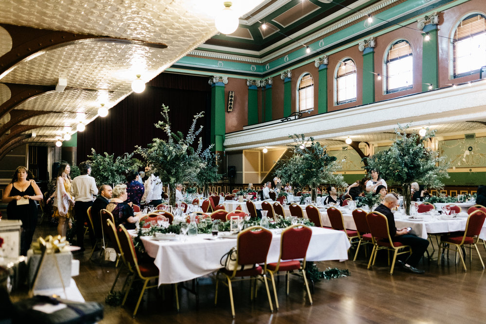 Fitzroy Town Hall  - This stunning, historic venue is perfect for cocktail parties, balls, and formal dinners, with space for up to 300 people seated.