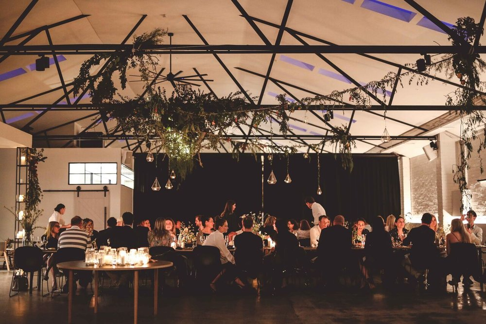 CANVAS HOUSE  - A private 'Dining and Event space' experience, located in South Melbourne. Open-Kitchen, Courtyard, Cloakroom, Dressing room, along with with staging and stereo surround sound capabilities, this is a stylish well equipped venue sure to impress.        Capacity: 200pax