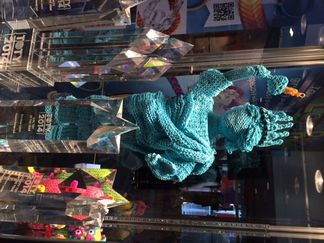 Rainbow Loom Statue of Liberty