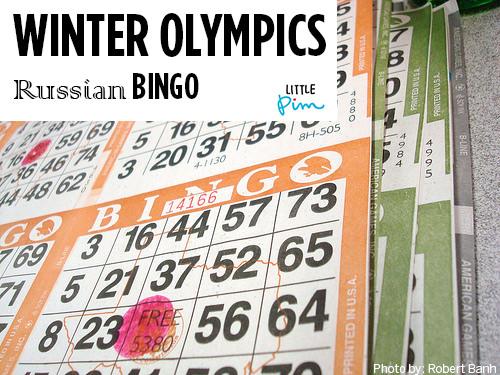 olympics bingo header
