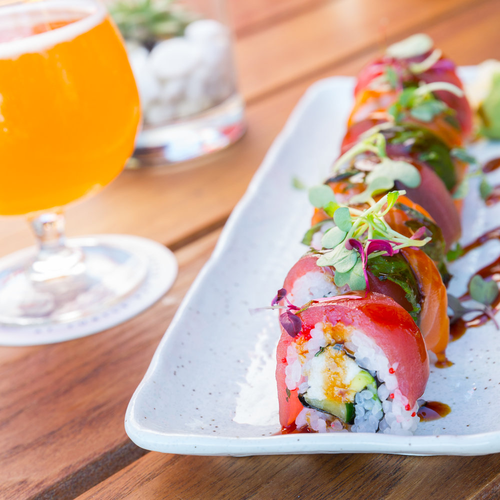 Roy's Beach House_King California Roll | Lump Crab, Ahi, King Salmon, Tobiko -__pc Craig Bixel_07-2017-16.jpg