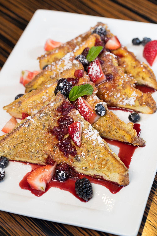 Roy's Kaanapali_French Toast-Wailuku's Own Home Made Bakery Sweet Bread, Kula Strawberry Reduction Sauce, Fresh-Seasonal Berries__pc Craig Bixel_20200104-55.jpg